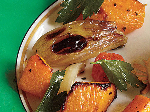 Roasted Root Vegetable Salad Recipe