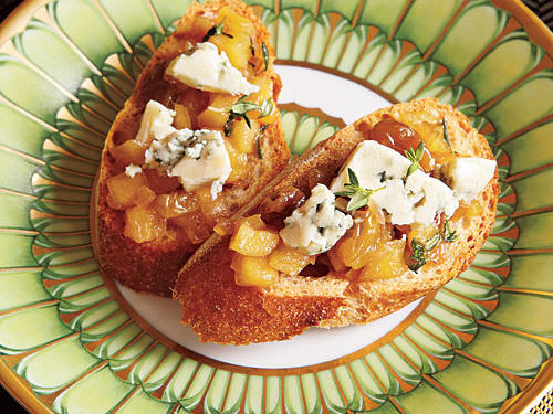 Serve with Basic Crostini, or try toasted walnut bread.