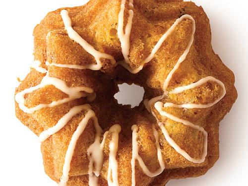 Variation 2: Hummingbird Bundt Cakes with Bourbon Glaze