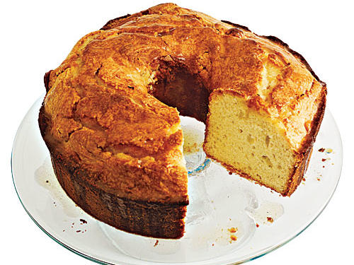 Dense, moist pound cake gets its name from the classic recipe of a pound each of flour, sugar, butter, and eggs. No surprise that a slice weighs in at more than 700 calories and a day's dose of saturated fat. Can anything replace the richness of a block of butter—and still maintain that treasured tender crumb?Yes: After testing cakes that were dry, crumbly, or spongy, we found that a deft combo of butter and canola oil was the fix, with the help of a smart trick. See, canola oil may be righteously heart-healthy, but it's also bland—until you steep a vanilla bean in it. This magically transforms the oil, giving it a creamy texture and rich flavor. We happily break with tradition, cutting half the calories and 80% of the saturated fat—in a cake that can stand proudly beside the original.The Classic: • 707 calories per slice• 39.6 grams total fat• 23.7 grams saturated fatThe Makeover: • 294 calories per slice• 12.6 grams total fat• 4.7 grams saturated fat