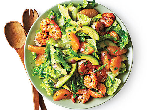 Shrimp, Avocado, and Grapefruit Salad Budget Cooking Recipe