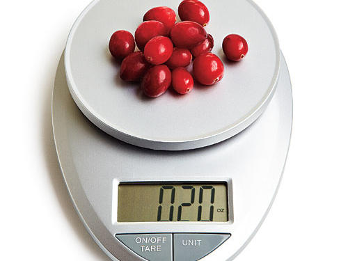 The secret weapon in every healthy cook's kitchen: an easy-to-use digital scale.