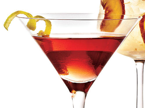 Sweetened orange liqueur carries half the caloric weight—more than the vodka or cranberry splash.223 calories per 4 fl. oz.