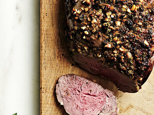 Herb and Citrus Roast Leg of Lamb Recipe