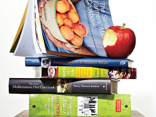"We were well into our review of a quarter-century of cookbooks when we were again struck by how fast the ""healthy"" category changes. Both the scientific and popular ideas of a healthy diet are in flux. On the science side, obsessions with total fat, sodium, antioxidants, and other micronutrients rose and fell. On the popular side: health foods, superfoods, gluten free foods. Today the overall understanding of healthy diet seems to be moving away from extremes and toward a balanced, varied, global-meets-local, always delicious ideal. But a lot of ""healthy"" cookbooks just don't stand up. Here are five that do. We didn't consider Cooking Light cookbooks for obvious reasons."