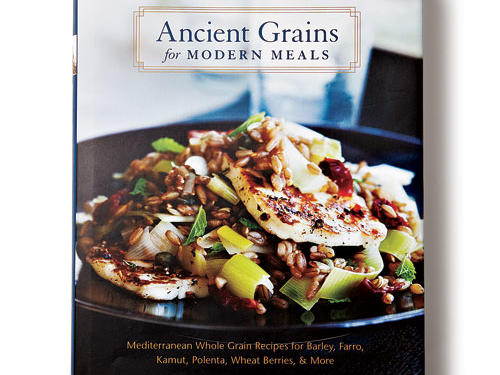 "Ancient Grains for Modern MealsBy Maria Speck, Ten Speed Press, 2011. Hardcover. $30; 231 pagesBecause this is the most joyful book about whole-grain cookery we've seen, we take Maria Speck at her word when she says, ""I don't eat whole grains because they are healthy, or wholesome, or to reap their nutritional benefits."" She simply loves them.This is not an exhaustive survey. Speck spotlights her favorites: rice and wheat from her Greek mother and barley and rye from her German father. She's not promoting a 100%-whole-grain diet, but the recipes make it possible to eat more grains, deliciously. Walnut Spice Breakfast Cake has a light crumb and perfectly balanced flavor. Other standouts: Crispy Brown Rice Cakes with Green Olives, Pecorino, and Sage, and Artisanal Fruit Bread made with whole-grain rye flour.GIVE THIS TO: Anyone who wants to up her or his wholegrain intake. —Deb Wise"