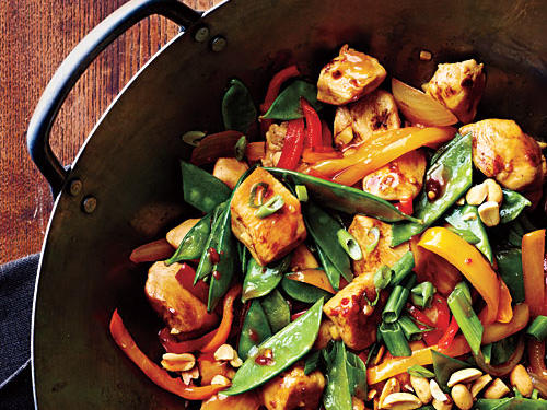 Chile paste and fresh ginger add just the right amount of heat to this flavorful stir-fry, which will add a little zip to your weeknight dinner rotation.