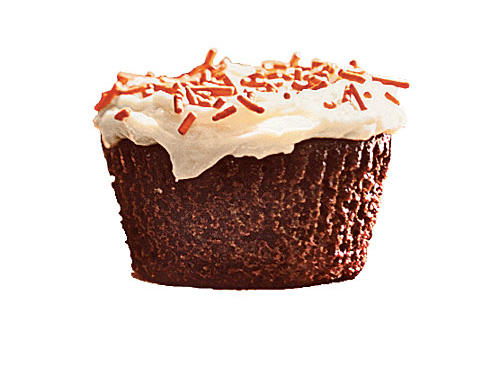 Instant coffee intensifies the chocolate richness of these cupcakes. For thicker frosting, cover and chill for 10 minutes before spreading on the cupcakes. Refrigerate frosted cupcakes overnight; cover lightly with plastic wrap, or store them in an airtight container.