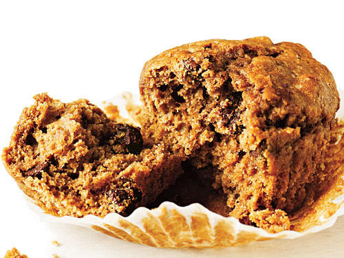 Every bite of Chocolate Chip-Coffee Muffins delivers a jolt of coffee flavor and chunks of chocolate.