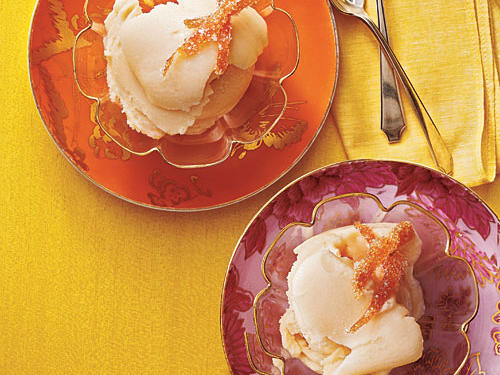 Grapefruit-Buttermilk Sherbet Comfort Food Recipe
