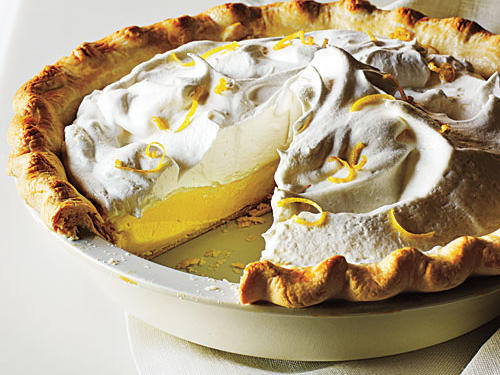 Lemon Cream Pie Easter Dessert Recipe