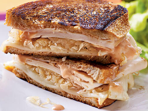 Turkey Reuben Panini Comfort Food Recipe