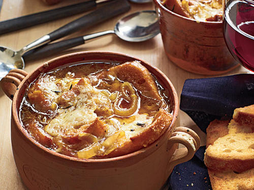 French Onion Soup Comfort Food Recipe