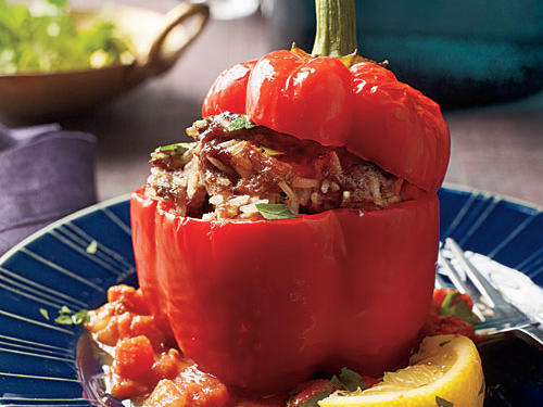 Lebanese Peppers Comfort Food Recipe
