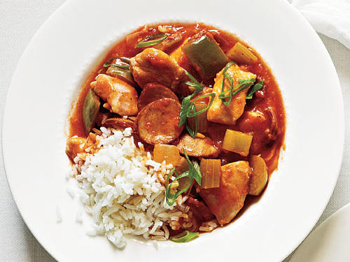 Chicken and Sausage Stew Recipe
