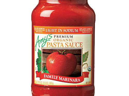 Amy's Light in Sodium Family Marinara Pasta Sauce