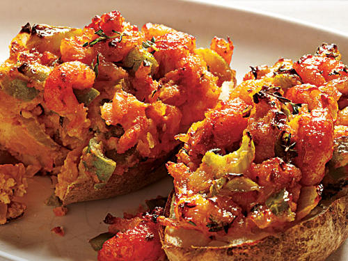 Cajun-Stuffed Potatoes