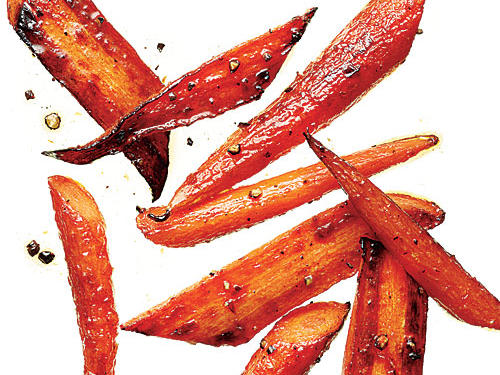 Try Butter-roasted carrots for an easy three-ingredient side dish that's perfect for busy weeknights.