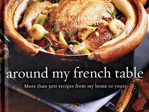"Around My French Table: More Than 300 Recipes from My Home to Yours By Dorie Greenspan, Houghton Mifflin Harcourt, 2010. Hardcover. $40; 530 pagesThis culinary tour de force includes recipes that read as if you're working from Greenspan's handwritten recipe cards. Each begins with a headnote, always containing a tidbit about method. Often there are comparisons to more familiar American recipes that will disarm anyone unfamiliar with—or intimidated by—a recipe or its title. Ever practical, she also offers substitutions and storage tips.""This is elbows-on-the-table food ..."" she promises. ""It's the food I would cook for you if you visit me in Paris—or New York City."""