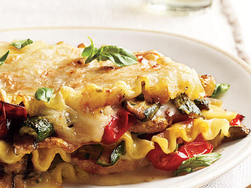 Lightened Vegetable Lasagna