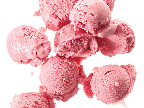 Strawberry-Buttermilk Sherbet Dessert Recipe