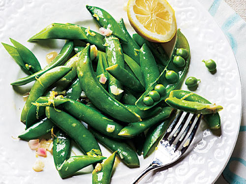 Lemony Snap Peas Recipe