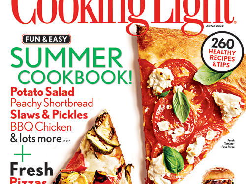 Cooking Light June 2012 Cover