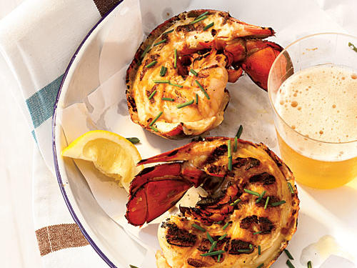 Grilled Maine Lobster Tails