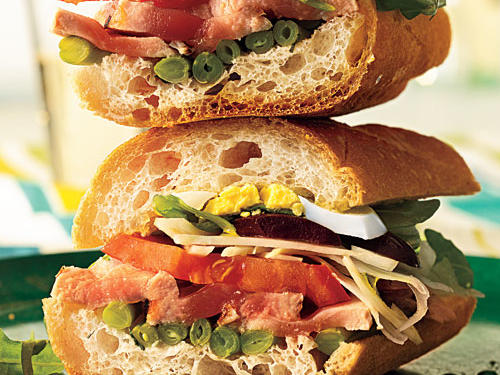 Pan Bagnat (Niçoise Salad Sandwiches) Recipe