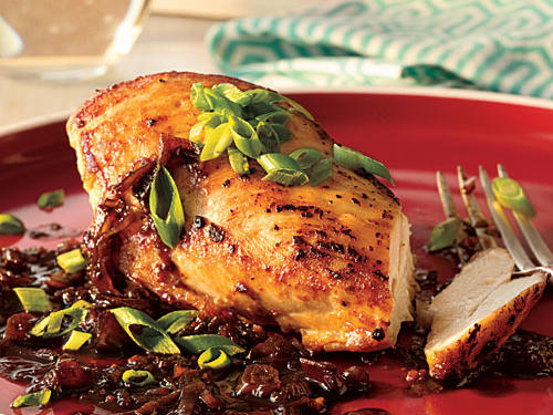 Balsamic and Shallot Chicken Breasts Recipe