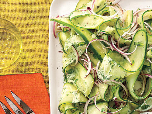 Herby Cucumber Salad