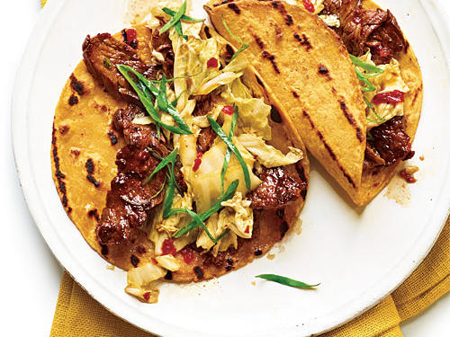 Korean-Style Beef Tacos