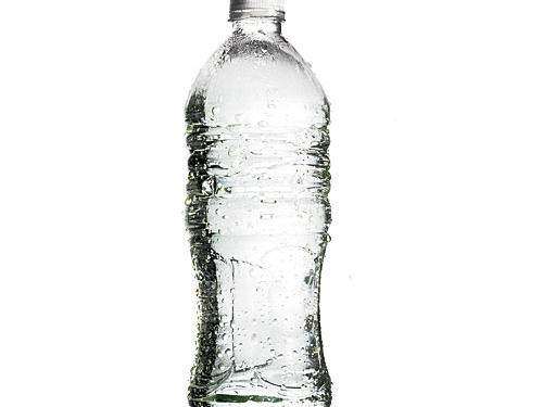 Hydration tip: Put a bottle of water by your bedside at night so it's the first thing you see when you wake up in the morning, reminding you to drink up.