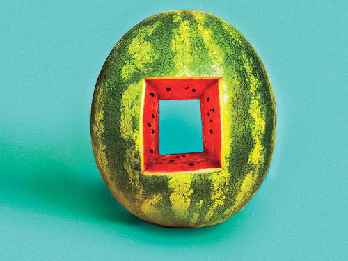 Square Cored Watermelon