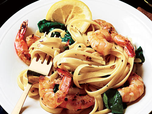 Shrimp Florentine Pasta Recipe