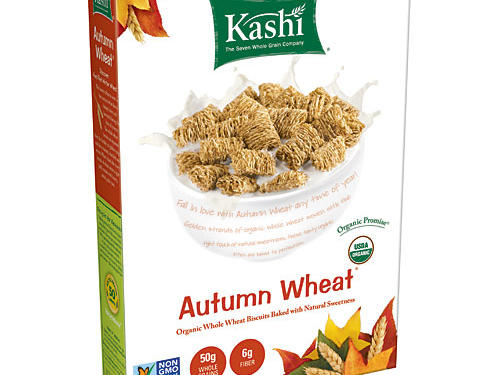 Studies show that eating cereal for breakfast can help peel off the pounds. Make yours whole grain and you'll be one step ahead of the game thanks to their filling fiber. When it comes to filling your cereal bowl, this Kashi Autumn Wheat Cereal is an especially smart pick. In one 2-ounce bowlful you'll snag an impressive 50 grams of whole grains and 6 grams each of satiating fiber and protein. With 180 calories per serving, it's low in calories, but not so low that you'll be scrounging for a snack by midmorning. And it has zero sodium. Did we mention that we love its short ingredient list of organic whole grain wheat, organic evaporated cane juice, and natural flavors?