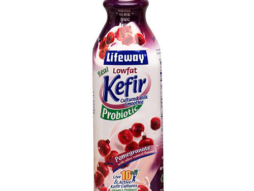 No time to eat your breakfast? Drink it! This cultured dairy drink is like yogurt only better. While both kefir and yogurt contain probiotics, the live bacteria shown to enhance digestive health, kefir can sport as many as 12 different probiotic strains compared to anywhere between 2 to 5 in most brands of yogurt. Plus kefir is cultured for 5 to 8 times as long as yogurt, giving those beneficial bugs more time to grow and multiply. Sip one of the many flavors of Lifeway Kefir on its own or blend it with fresh or frozen fruit in a smoothie. One cup of plain low-fat kefir delivers 30% of your daily dose of calcium and a hefty 11 grams of protein for only 110 calories and 2 fat grams.