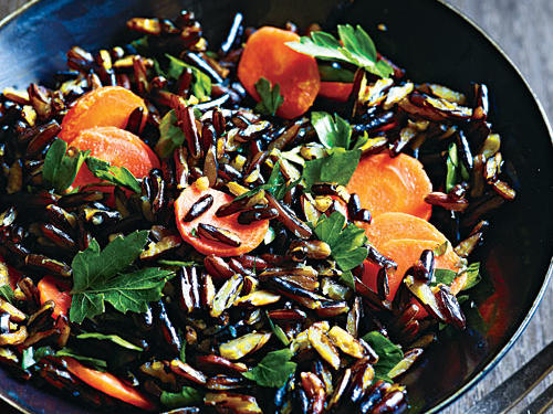 If you can't find precooked wild rice, substitute boil-in-bag or precooked brown rice.