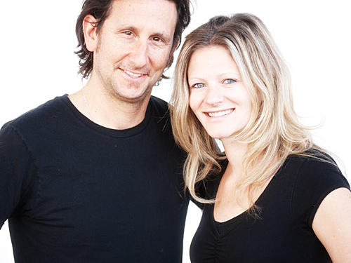 Richard Landau and Kate Jacoby