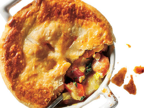 The Best Chicken, Potato, and Leek Pie