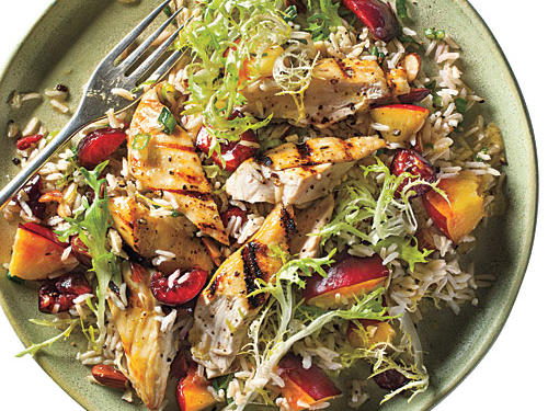 Maryland Recipe: Stone Fruit Chicken-Rice Salad