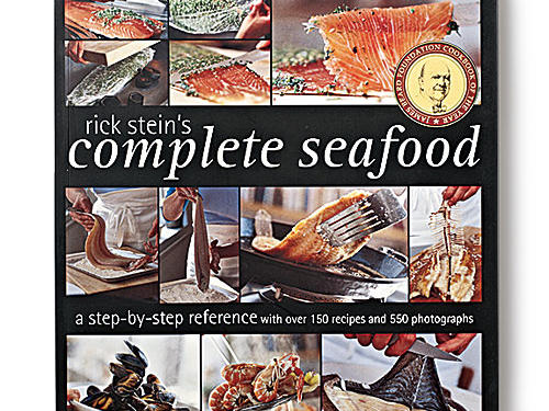 Rick Stein's Complete Seafood By Rick Stein, Ten Speed Press, 2004. Paperback. $28; 264 pagesA definitive fish book, with ultra clear instruction and photography. The 67 techniques get very specific: butterflying raw shrimp for broiling; sautéing fresh roe; braising a whole large flatfish. Then come the recipes, equally clear and appealing. It was one of the early efforts at promoting sustainability, so the facts may be dated, but we applaud the spirit and effort.GIVE THIS TO: Seafood lovers of all scales and stripes. —Adam Hickman