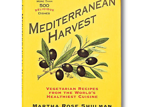 Mediterranean Harvest: Vegetarian Recipes from the World's Healthiest Cuisine By Martha Rose Shulman, Rodale; 2007. Hardcover. $40; 398 pagesInspired by her travels, Martha Rose Shulman shares more than 500 produce-packed recipes. Deep-Dish Eggplant Torta is a standout—a magnificent column of olive oil pastry encasing layers of eggplant, tomato sauce, and mozzarella. Traditionally, fish define many dishes from the region, but they're not missed here. Shulman maintains, after all, that the true heart of the cuisine is the produce. She embraces the spirit of the great seafood soup bouillabaisse, with not a fish in sight: One version features poached eggs on garlic-rubbed toast with a gentle saffron-tomato broth. Shulman is conscious of health and notes that she uses only enough oil to make the flavors sing; no need to lay on excess when the vegetables shine so bright.GIVE THIS TO: Farmers' market junkies looking for tasty inspiration. —Adam Hickman