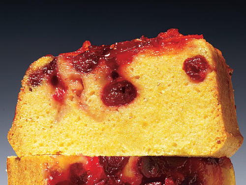 Kumquat-Cranberry Cornmeal Loaf