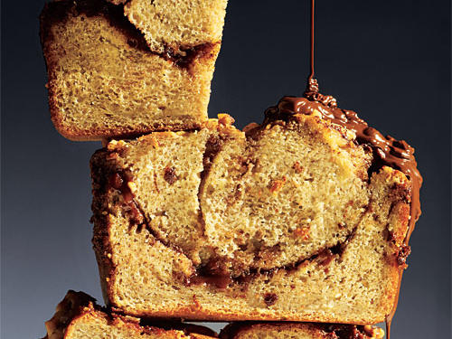 The Best Chocolate-Hazelnut Banana Bread