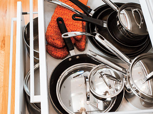 Bright Ideas: Cook's Tools Storage
