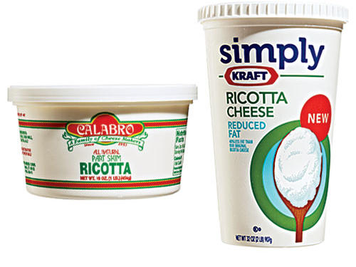 Lower-Fat Ricotta Cheese