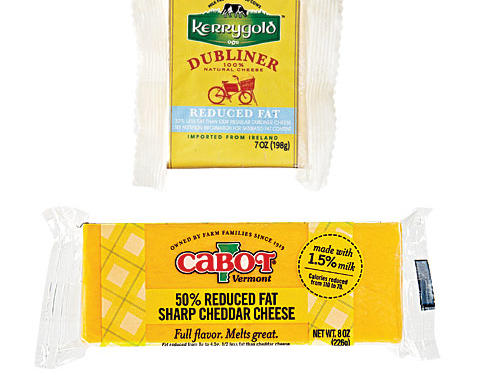 1210 Reduced-Fat Cheddar Cheese