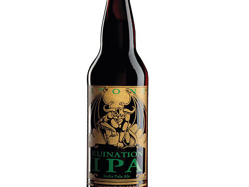 An explosion of hops that punch right away and stay until the very endBrewery: Stone Brewing Co.Style: Imperial IPAAlcohol: 7.7%