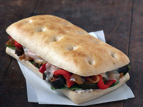 Starbucks Roasted Vegetable Panini